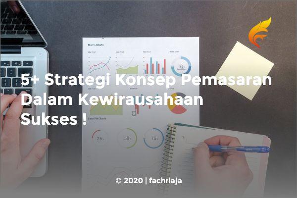 5+ Strategi Konsep Pemasaran Dalam Kewirausahaan Sukses
