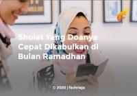 Sholat Yang Doanya Cepat Dikabulkan di Bulan Ramadhan
